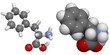 Phenylalanine (Phe, F) molecule