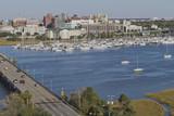 Fototapety River View of Charleston, South Carolina