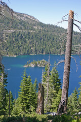Lake Tahoe and Fannette Island