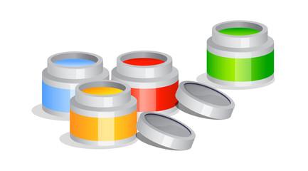 vector icon paint