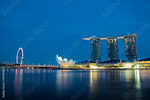 Aluminium Singapore Marina Bay
