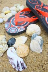 sur le sable,bord de mer