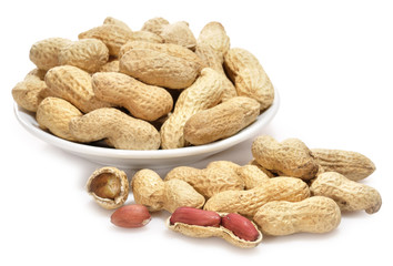 Aperitivo de cacahuetes.