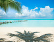 Fototapete Insel - Urlaub - Strand