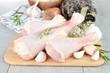 raw chicken/ drumsticks