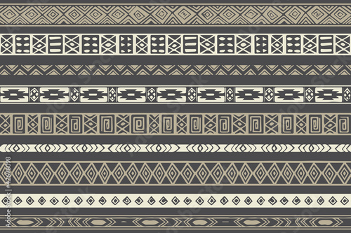 Native Ethnic Pattern - 42696098