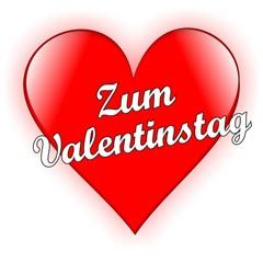 Zum Valentinstag - Herz