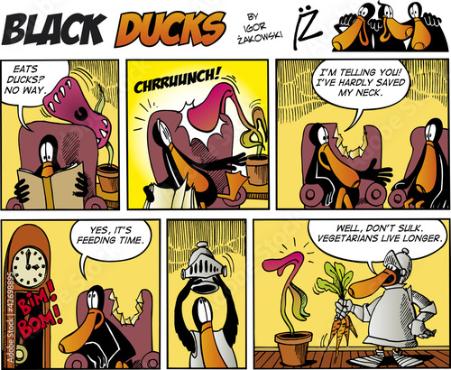 Staande foto Comics Black Ducks Comics episode 75