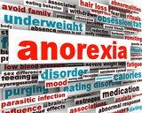 Anorexia disorder design psychological trauma