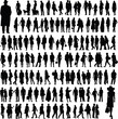 people silhouettes - 42700207