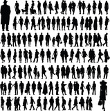 Fototapety people silhouettes