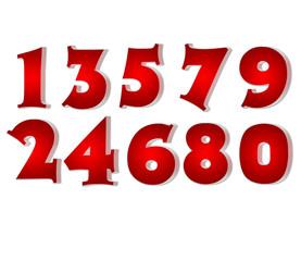Numéros rouges