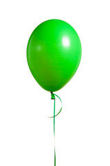 festive green balloon