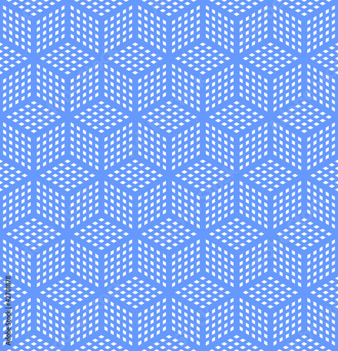 Seamless geometric optical illusion texture.