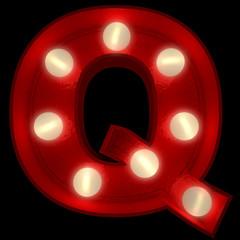Glowing Q