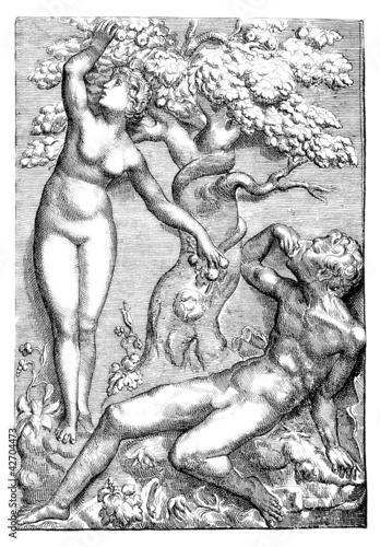 Eva, Adam & Snake