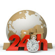 World delivery in 24 Hrs