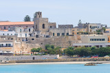 Panoramic view of Otranto. Puglia. Italy. poster