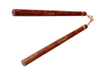 Nunchaku - traditional Okinawan weapon
