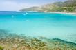 Sardegna,panorama del mare a Mari Pintau