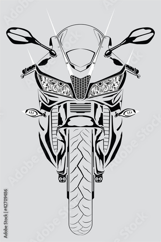 widok-z-przodu-motocykla