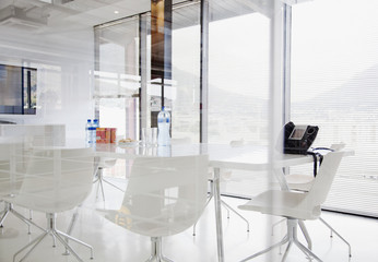 Conference room in modern office