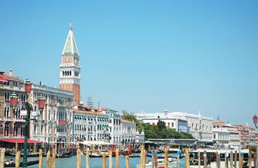 Vista del Campanile di San Marco e del Palazzo Ducale, Venezia
