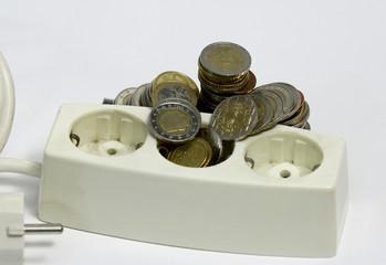 Strom Euro Geld