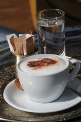 Wiener Kaffeehaus Kultur - Hochformat