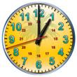 1 tropical clock