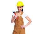 Worker woman.