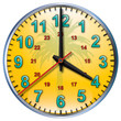 4 tropical clock