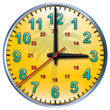 3 tropical clock