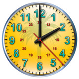 2 tropical clock