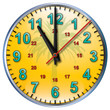 11 tropical clock