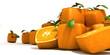 Futuristic oranges