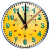 11 tropical clock