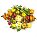 GMO fruits poster