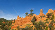 red rock formation in Cedar Breaks National Park, Utah