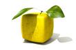 Cubic golden apple