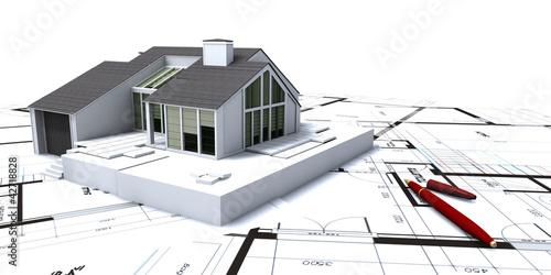 Modern loft project