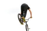 Stunt bike rider poster