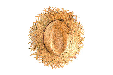 basketwork made from plants. top view