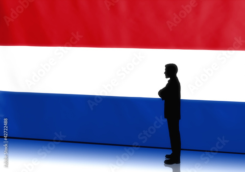 Dutch Businessman Thinking