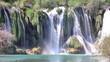 Waterfall landscape timelapse