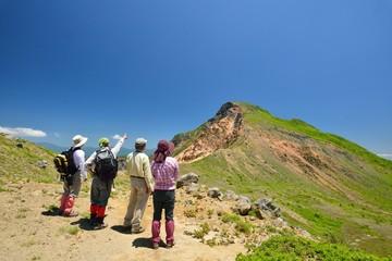 夏山を歩く