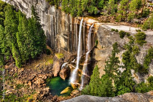 Fototapeten,yosemite,wasserfall,national park,natur