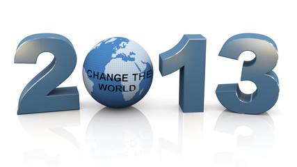 2013 - Change the world