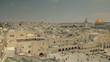 Jerusalem panoramic view of Wailing Wall