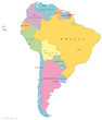 South America, Single States (Südamerika Einzelstaaten)